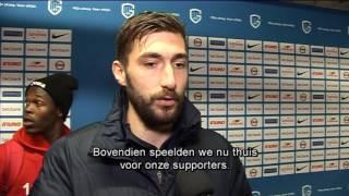 Interviews na KRC Genk - Oostende