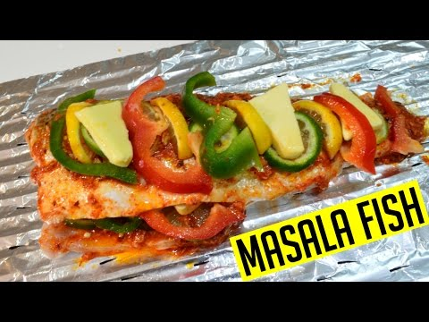 Masala Fish | Sea Bass | Indian Cooking Recipes | @CookwithAnisa #recipeoftheday