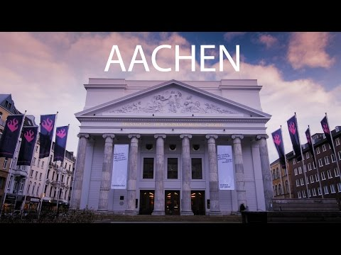 Aachen - City of Spring in 4K
