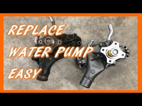 How To Replace Water Pump in 1988-1998 Chevy GMC Truck & SUV