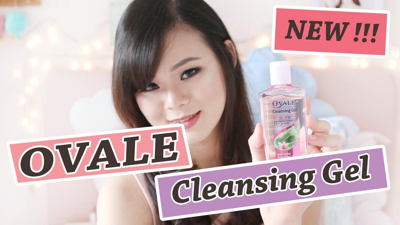 Ovale Cleansing Gel Review Demo Jean Milka Youtube Aloe Vera
