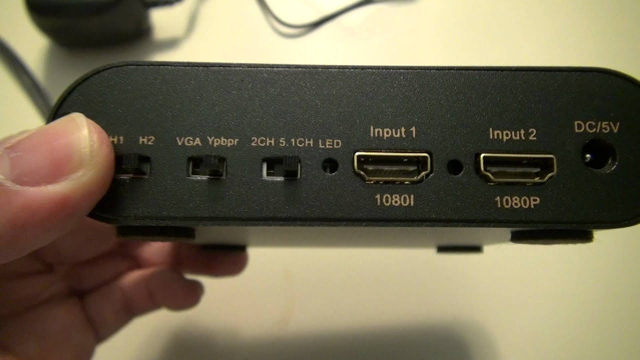 Consumer product review viewhd hdmi to component vga - How to add an extra hdmi port to a tv ...
