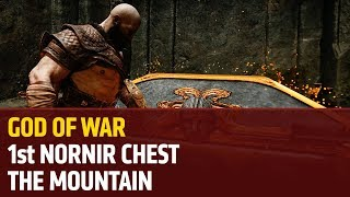 God of War (PS4) – The first Nornir Chest in The Mountain