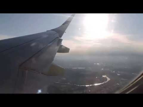 Landing At Zurich From Helsinki With Finnair