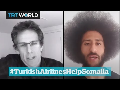 Turkish Airlines help Somalia