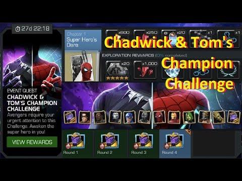 MCoC: Chadwick & Tom's Champion Challenge | Event Quest