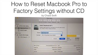 How to Reset Macbook Pro to Factory Settings without CD - 3 Free Steps!