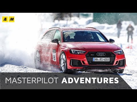 AUDI RS4 - 450 CV alla 20quattro Ore delle Alpi 2018 (Audi A8 bonus) | #MasterpilotAdventures VLOG
