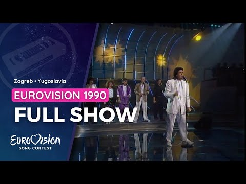 Full show • Eurovision Song Contest - Zagreb 1990