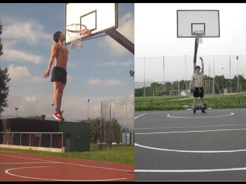 5'7 dunker(170cm) DUNK TRAINING - best dunks of september