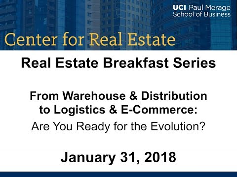 CRE Breakfast Series - From Warehouse & Distribution to Logistics & E-Commerce