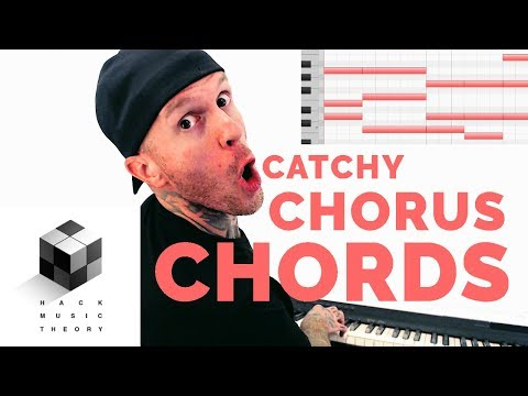How to Write a Hook - Chord Progression Theory for a Catchy Pop Song Chorus (Music Theory)