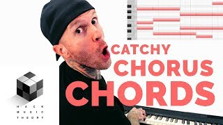 How to Write a Hook - Chord Progression Theory for a Catchy Pop Song C
