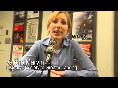 Valerie Marvin on Lansing Goes to War - Lansing Online News Radio