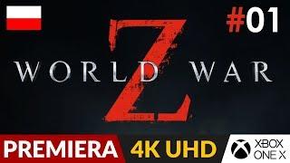 World War Z PL  #1 (odc.1)  Coop z zombie - lepsze od Left 4 Dead ? | Gameplay po polsku 4K