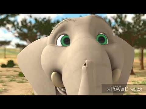 การ์ตูนตลก พากย์ลาวอีสาน ตอน ช้างน้อยหรรษา