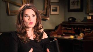 Hayley Atwell 'Captain America: The First Avenger' Interview
