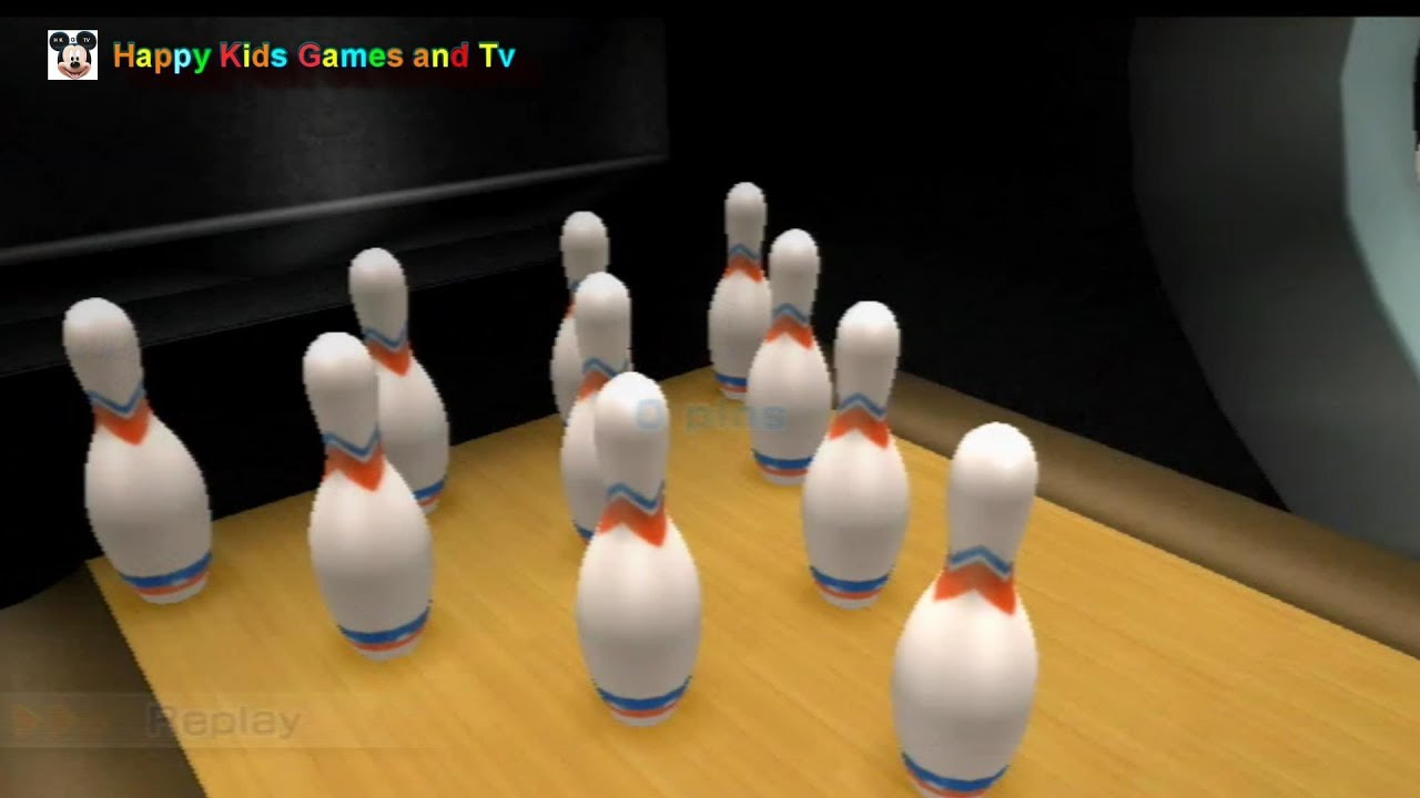 Bowling 10 Pin Game Wii Games Best Games For Kids Happy Kids
