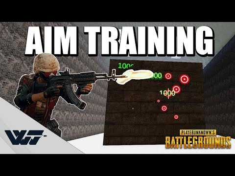 GUIDE: How to TRAIN YOUR AIM for PUBG (And other FPS games)