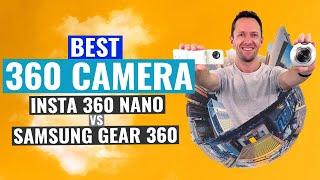 Insta360 Nano vs Samsung Gear 360 (Comparison!): Best 360 Camera?