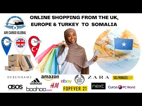 AIR CARGO FROM UK, EUROPE & TURKEY TO SOMALIA: AIR CARGO GLOBAL. SHIPPING TO SOMALIA