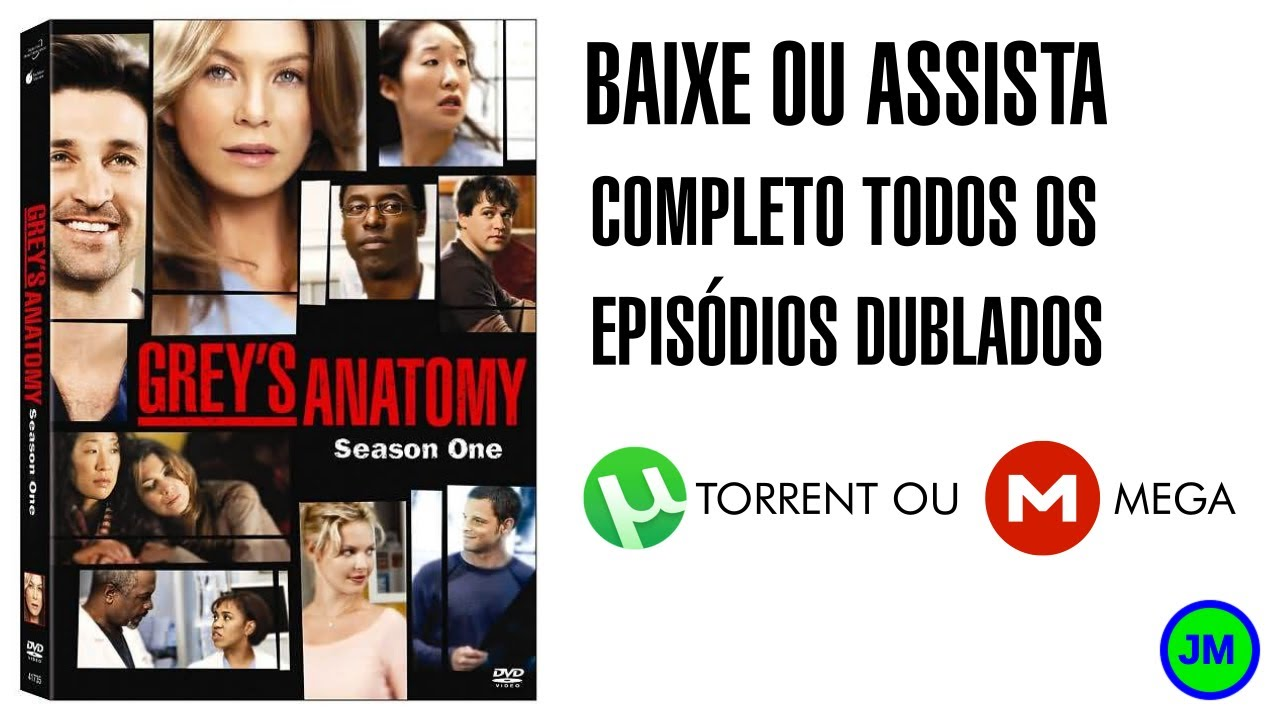 Baixar Greys Anatomy 1 Temporada Dublada Torrent Ou Mega Youtube