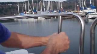 Installing a RailLight Mini on a Sailboat Railing