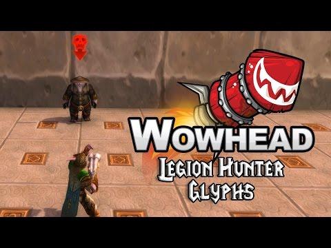 Legion Hunter Glyphs