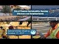 PHX Subcommittee Sustainability, Housing, Efficiency & Neighborhoods - October 17, 2017