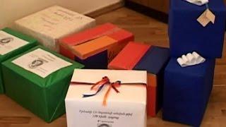 Անակնկալ զինվորներին՝ դպրոցականներից  աշակերտները նվերներ են պատրաստել