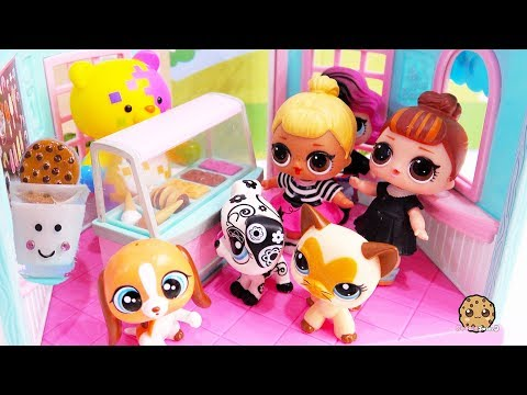 abdc14af Crazy For Cookies ! LOL Surprise Dolls + Littlest Pet Shop Cookie ...