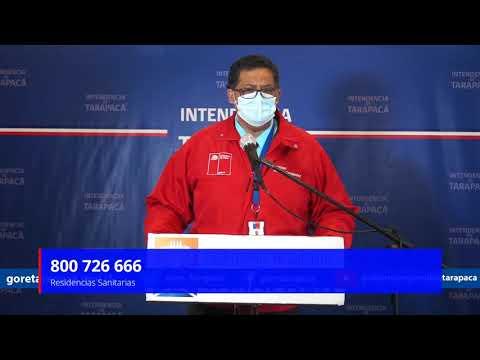 Punto de prensa 17 de agosto de 2020 - Gobierno Regional de Tarapacá