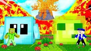 BLOCKY HAUS vs. SLIMY HAUS?! - Minecraft VULKAN