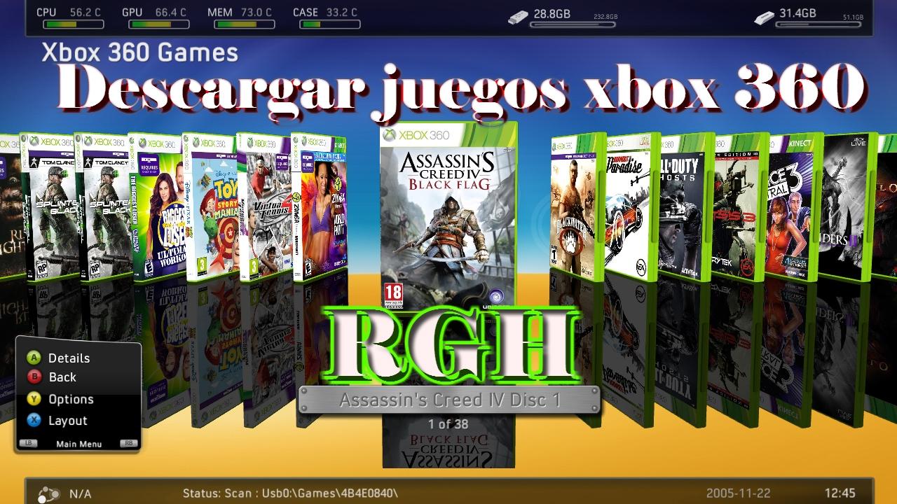 Descargar Juegos De Xbox 360 Rgh Youtube