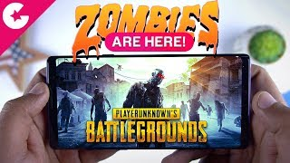 PUBG Mobile ZOMBIE MODE is HERE!!!