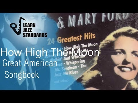 How High The Moon (Play-Along)