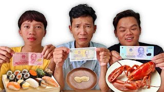 LamTV - Eating Battle At Face Value Money