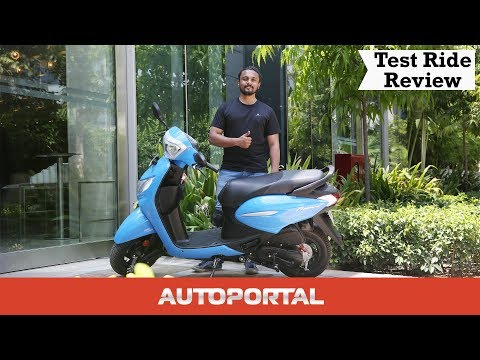 2019 Hero Pleasure+110 First Ride Review - Autoportal