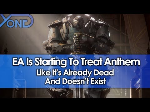Even EA Is Starting To Treat Anthem Like It's Dead & Doesn't Exist