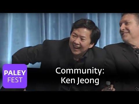 """Community - Ken Jeong's """"Chang Tongue"""""""