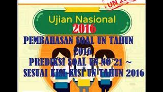 Pembahasan Soal UN Matematika 2016, Prediksi Soal UN SD/MI No 21 ~ Luas Bangun Datar