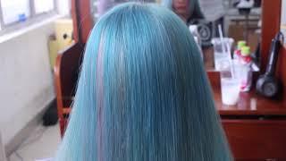 [Địa chỉ dạy nghề tóc uy tín] Học viên học nghề tóc thi Cây Kéo Vàng tại Học viện tóc THẢO TÂY