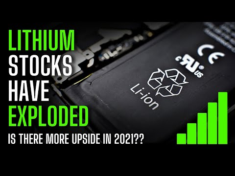 3 Lithium Stocks EXPLODING on growing EV Demand   Investing in Lithium Stocks 2021 (ALB, LTHM, SQM)
