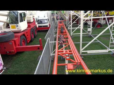 Wilde Maus Barth Onride Video Pützchens Markt 2014 by kirmesmarkus