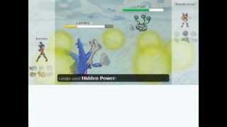 Pokemon Battle #161 Xerxes vs Rainrunner - Showdown #15