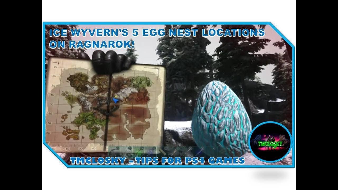 Ice Wyvern Nest Locations Map