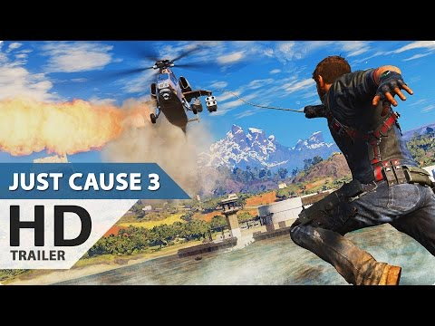 Just Cause 3 Extended Trailer Deutsch German (1080p HD) E3 2015