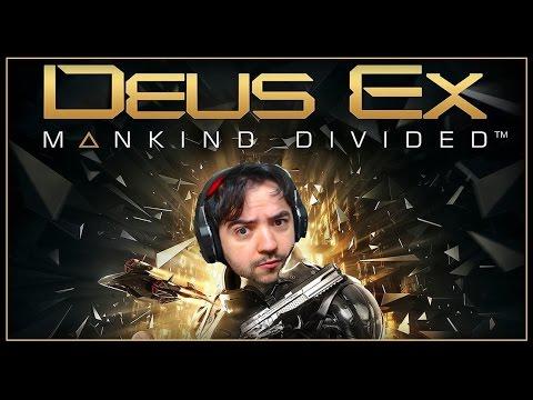 Deus EX Mankind Divided - #1 - Os Illuminati Gameplay do Inicio [Dublado PT-BR]