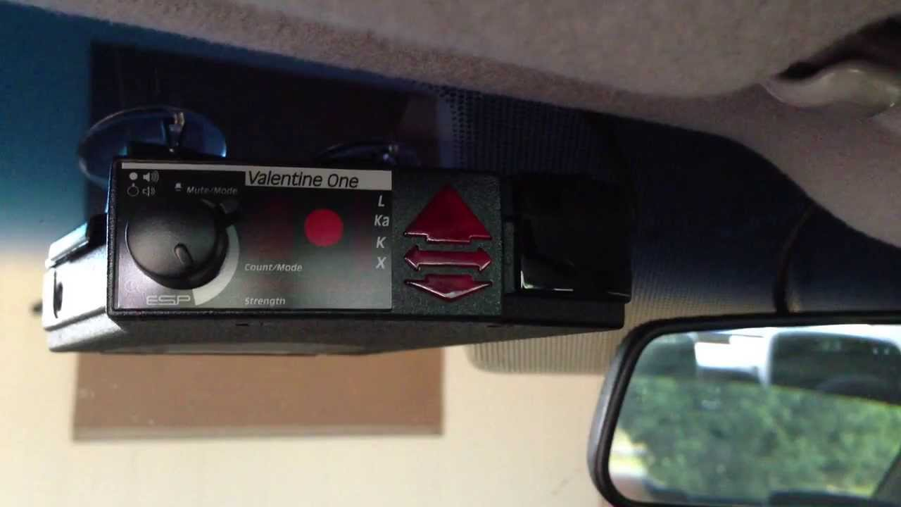 Valentine One And Savvy Installation In 2009 Camry
