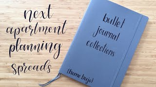 Bullet Journal Collections | Next Apartment Planning Spreads